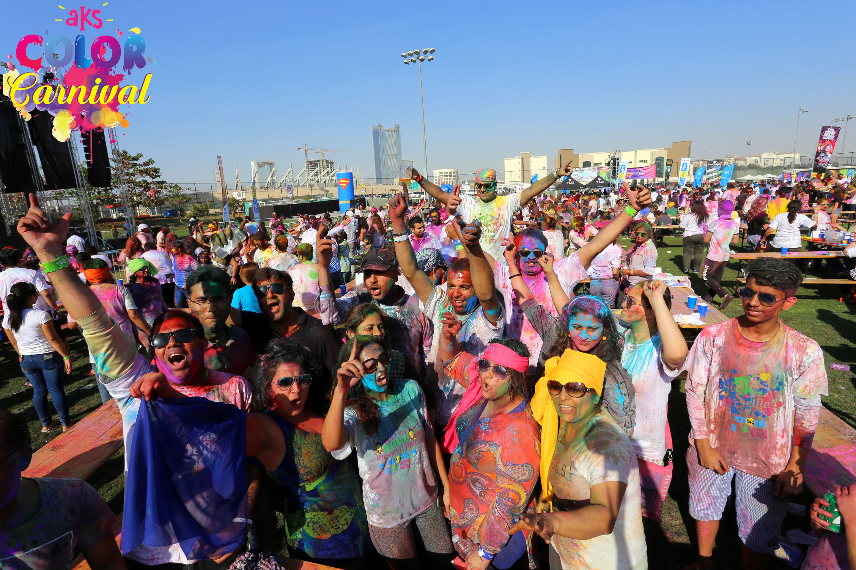 aks color carnival the ultimate holi experience photos promo