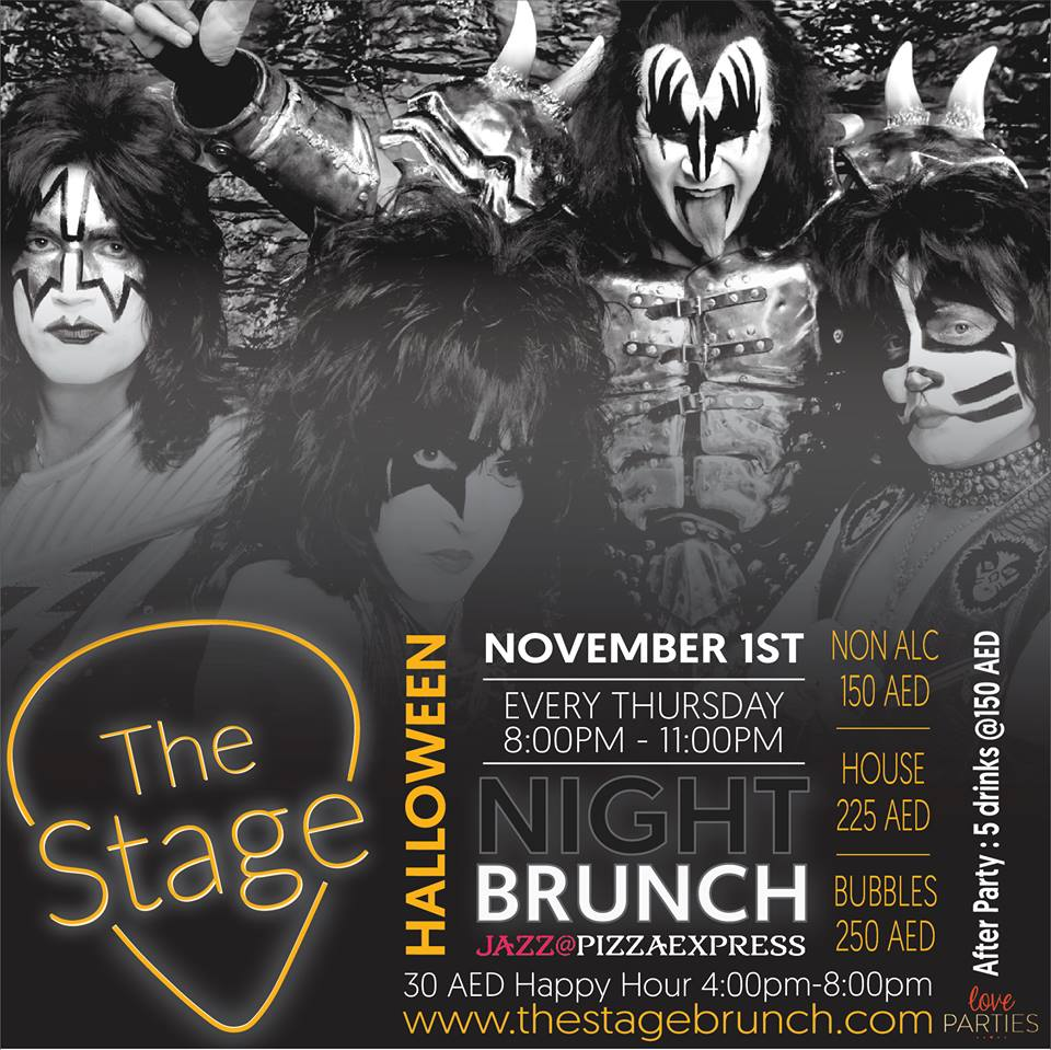 jazz@pizzaexpress the stage brunch halloween edition :: promo