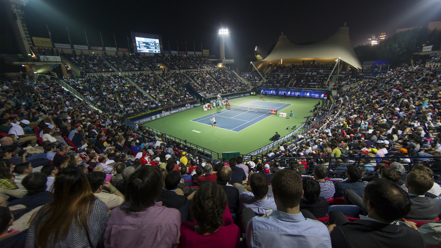 Dubai Duty Free Tennis Stadium Outlet Promolover