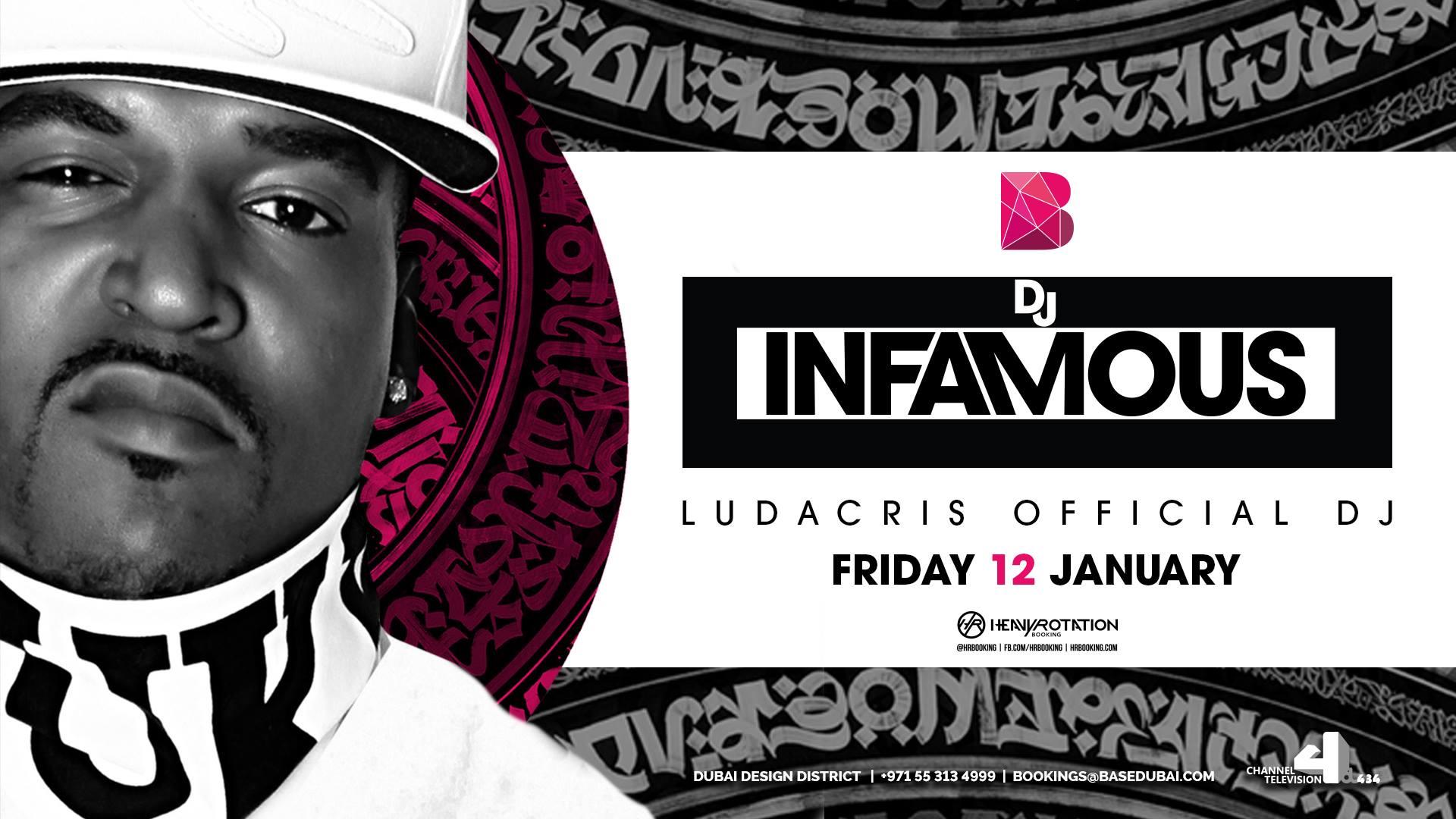 Base On Friday DJ Infamous Promo PromoLover