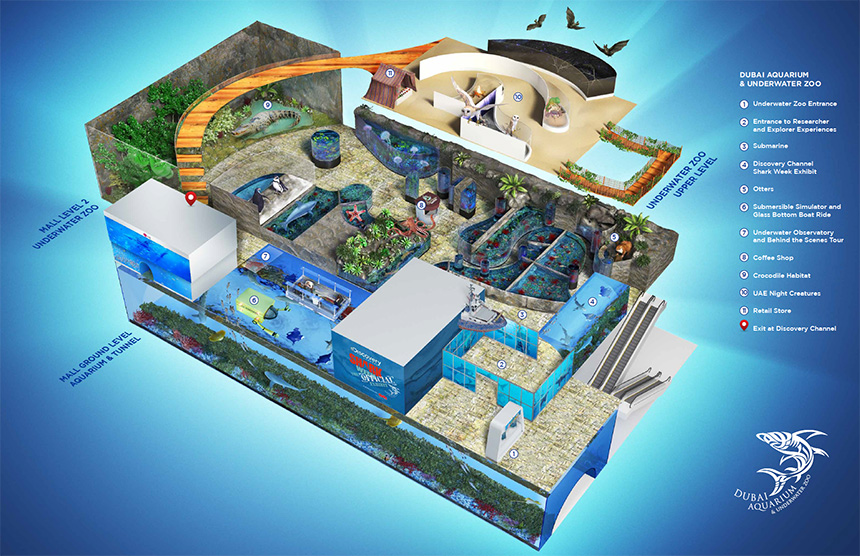 Dubai Aquarium Amp Underwater Zoo Outlet Promolover
