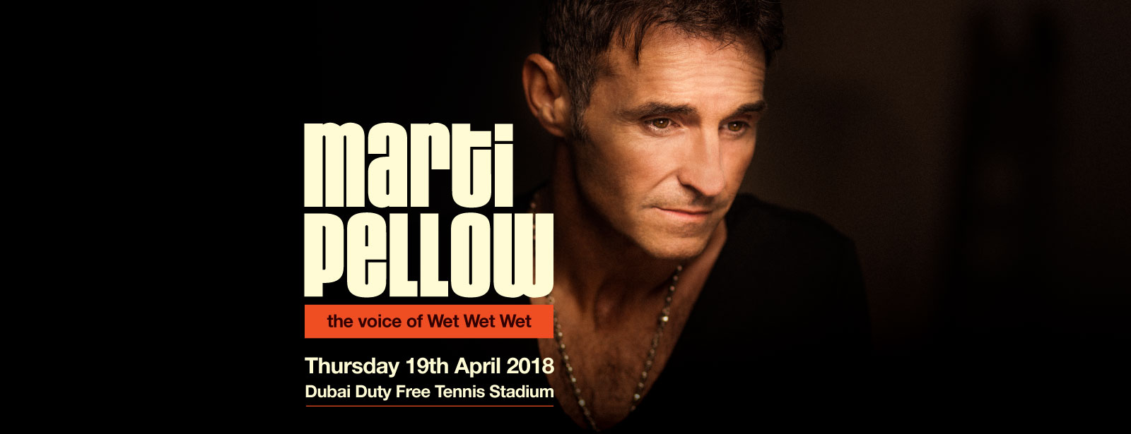 The Irish Village presents Marti Pellow Live in Dubai The Private Collection Tour