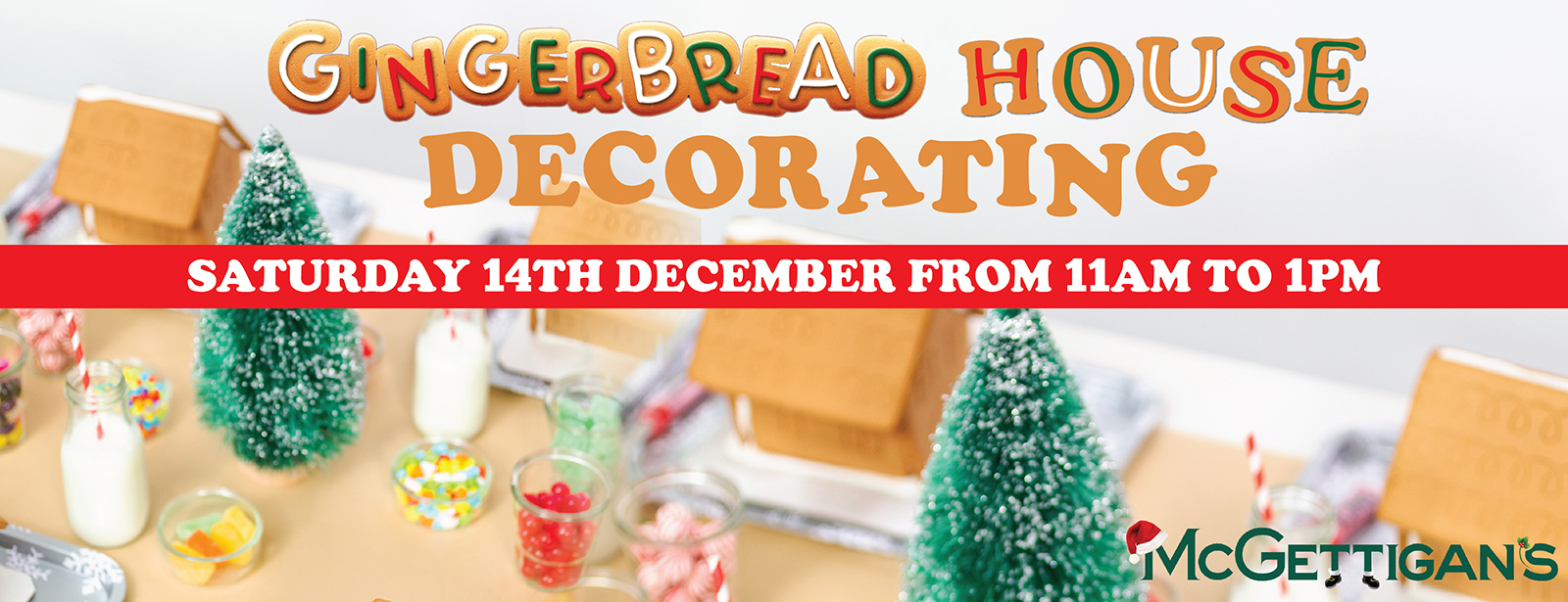 McGettigan's JLT Gingerbread House Decorating Workshop 2019