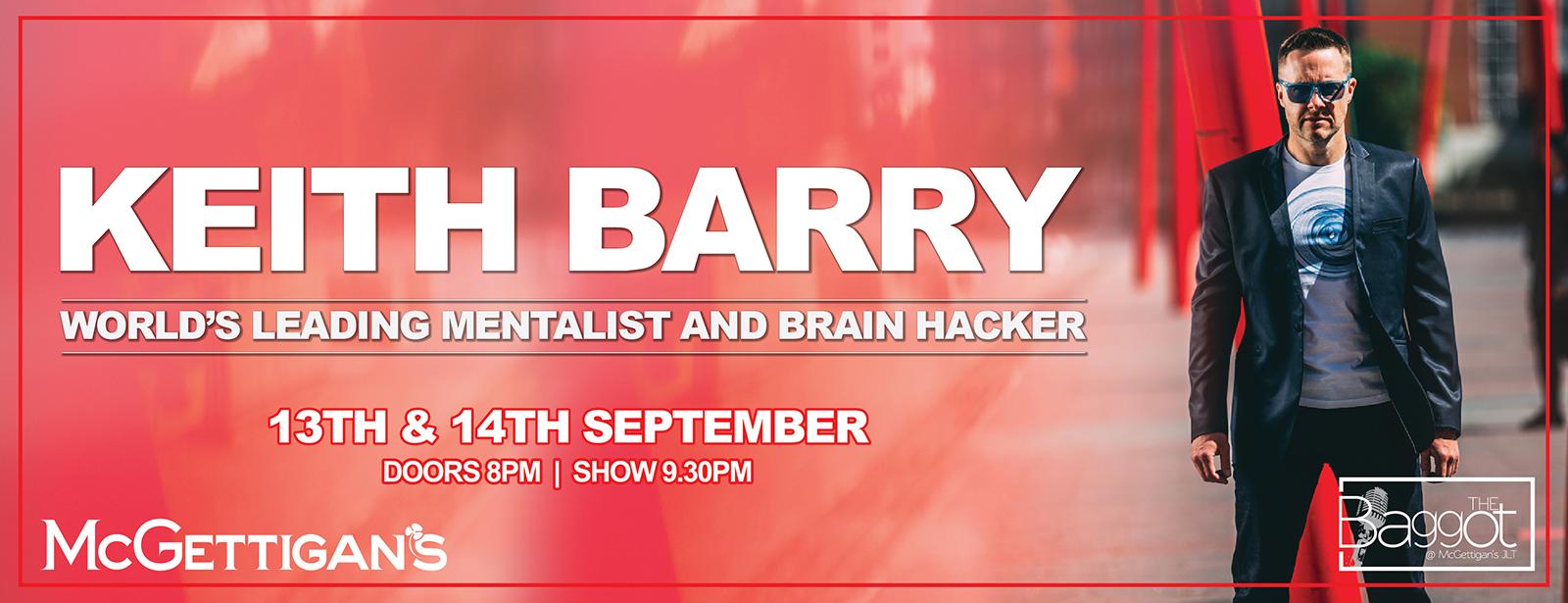 Keith Barry Live in Dubai