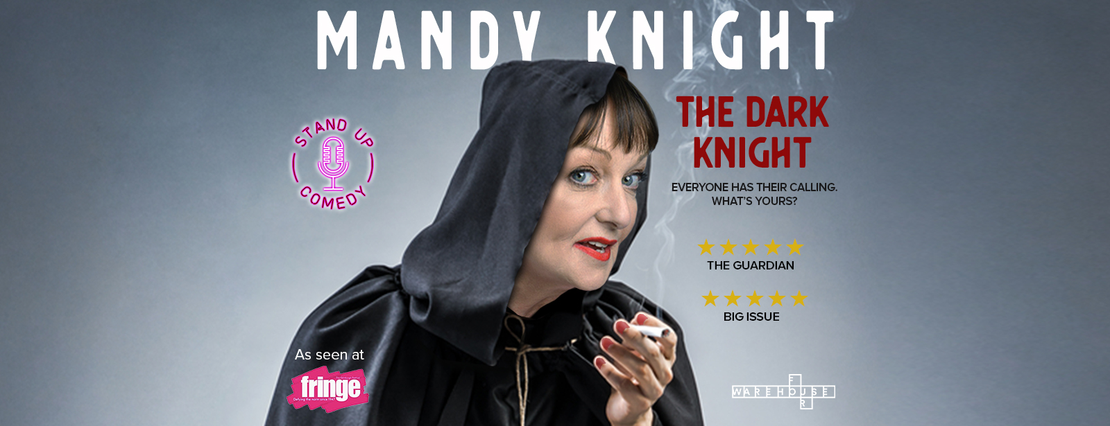 Warehouse Four presents Mandy Knight The Dark Knight