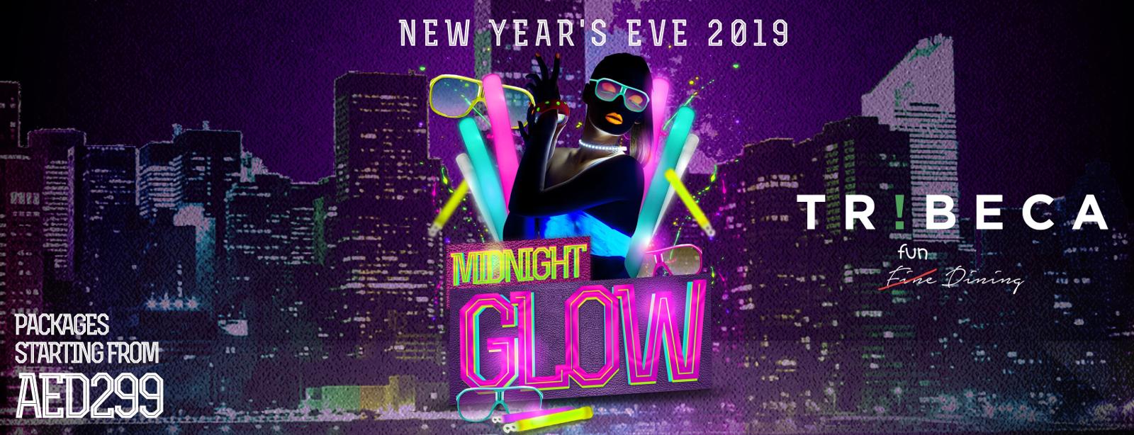 Tribeca's NYE 2019 Party – Midnight Glow
