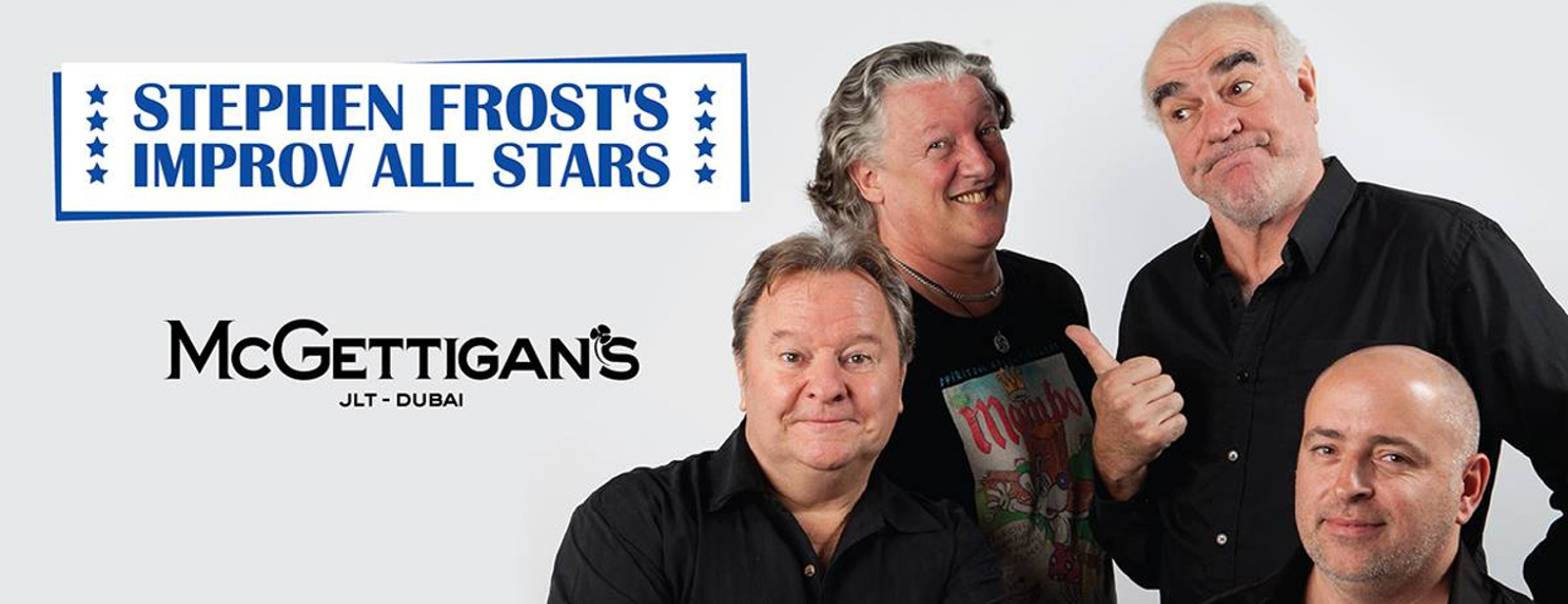 McGettigan's presents Stephen Frost's All Stars Comedy Show