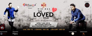Vir Das The Loved Tour Live at Raj Mahal Theatre BOLLYWOOD PARKS™