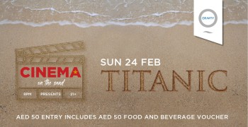Cinema On The Sand presents Titanic