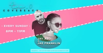 Cove Beach Jay Abo & Jae Franklin Live