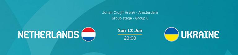 Euro 2020: Netherlands vs Ukraine