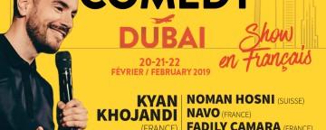 Montreux Comedy UAE 2019: French Gala w/ Kyan Khojandi