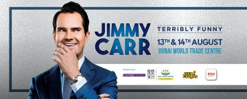 Jimmy Carr: Terribly Funny Live in Dubai - SOLD OUT