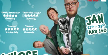 Whose Line Is It Anyway brought to you by The Noise Next Door - MOVENPICK JBR Show