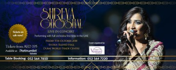 Shreya Ghoshal Live in Concert