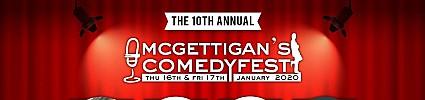 McGettigan's ComedyFest 2020 Feat. Karl Spain, Danny O'Brien, Al Foran & Joe Rooney