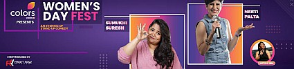 Colors TV Women's Day ft. Neeti & Sumukhi