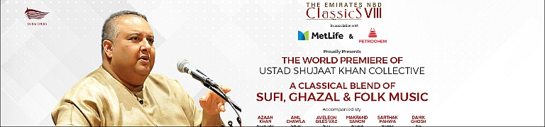 Emirates NBD Classics Season 8 – Ustad Shujaat Khan Collective