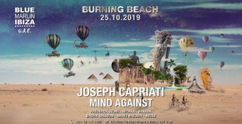 Burning Beach with Joseph Capriati & Mind Against