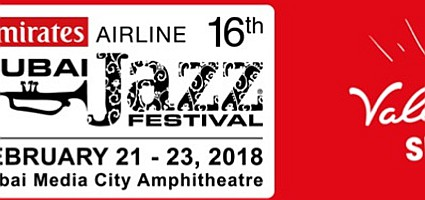 20% Valentine's Offer Emirates Airline Dubai Jazz Festival 2018
