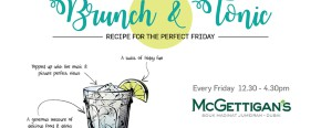 McGettigan's MJ: Brunch & Tonic