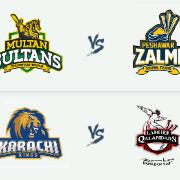 PSL 2019: Multan Sultans v Peshawar Zalmi & Karachi Kings v Lahore Qalandars - 28 Feb