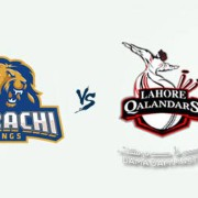 PSL 2018: Karachi Kings v Lahore Qalandars - 26 Feb