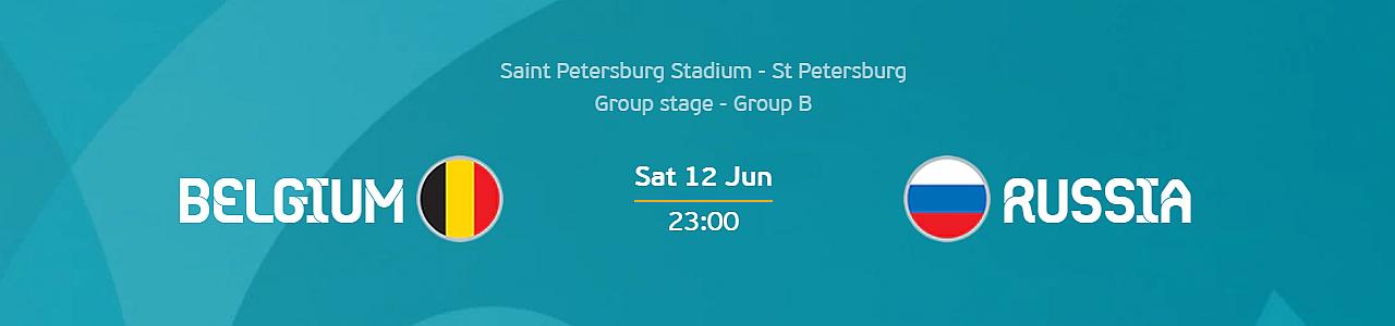 Euro 2020: Belgium vs Russia