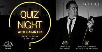 Quiz Night with Ciaran Fox