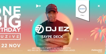Zero Gravity One Big Birthday Elusive Party with DJ EZ & Taype Deck