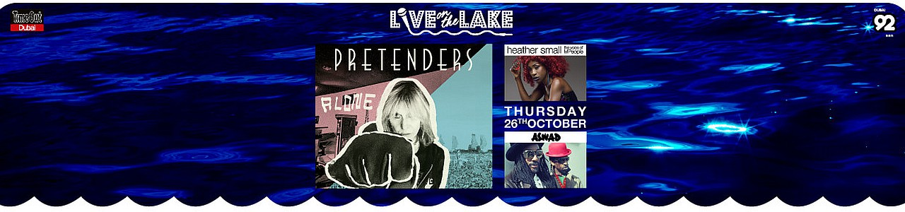 Live on the Lake presents Pretenders with Heather Small & Aswad