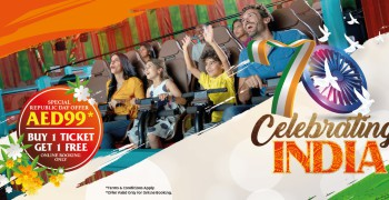 Bollywood Parks™ Dubai Indian Republic Day Offer