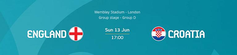 Euro 2020: England vs Croatia