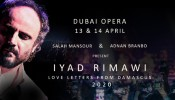 Iyad Rimawi Love Letters from Damascus 2020 - CANCELLED