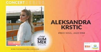The Fridge Concert Series Summer Special with Aleksandra Krstic