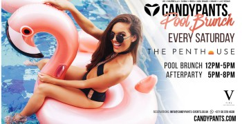 Candypants Ladies Day Pool Party