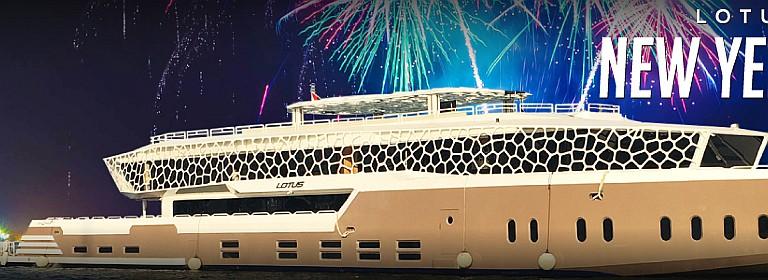 The Lotus Mega Yacht New Year's Eve 2020