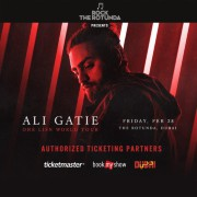 Rock the Rotunda presents Ali Gatie 2020
