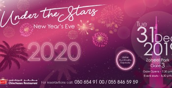 Under the Stars New Year's Eve 2020 Desi Night