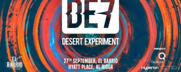 Desert Experiment 7