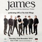 James Live in Dubai 2018