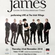 James Live in Dubai 2018