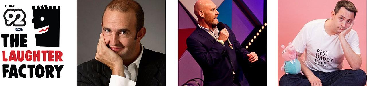 The Laughter Factory 'Oversized Vegetable' Dubai Tour w/ Wayne Deakin, Eddy Brimson & Philip Simon June 2020