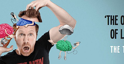 McGettigan's presents Jason Byrne – The Man With Three Brains Live at The Baggot