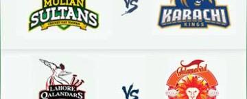 PSL 2018: Multan Sultans v Karachi Kings & Lahore Qalandars v Islamabad United - 2 Mar