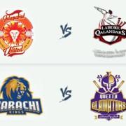 PSL 2018: Islamabad United v Lahore Qalandars & Karachi Kings vQuetta Gladiators - 8 Mar
