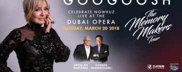 Googoosh: The Memory Makers Tour