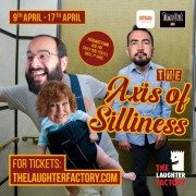 The Laughter Factory 'Axis of Silliness' Abu Dhabi Tour w/ Tanyalee Davis, Stephen Carlin & Omid Singh April 2020 - CANCELLED