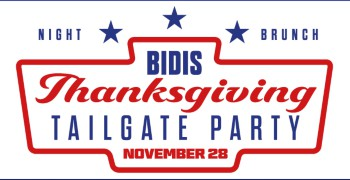 Bidis Thanksgiving Tailgate Party Brunch 2019