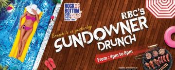 Rock Bottom Café Barsha Sundowner Drunch